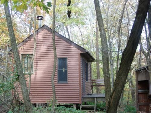 Hut exterior